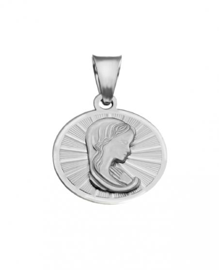 Medalik srebrny - Madonna